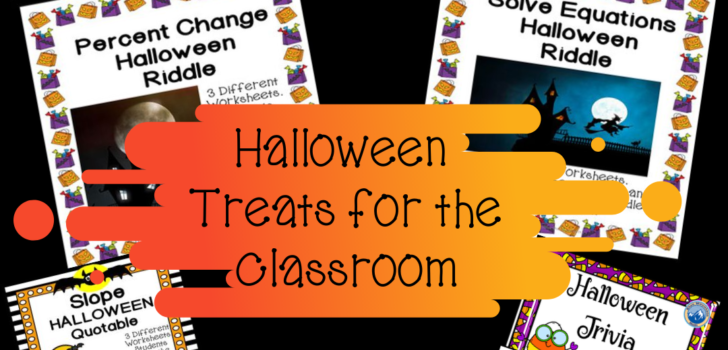 Math Halloween Treats