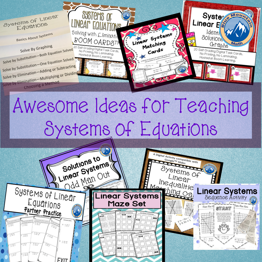 Resources and ideas to help teaching