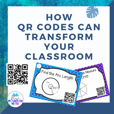 QR Codes can be used in a variety of activities in the classroom.