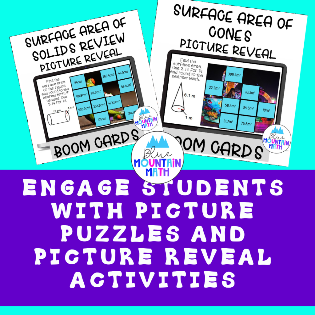 Picture Puzzles and Picture Reveal Activities are so engaging for students.